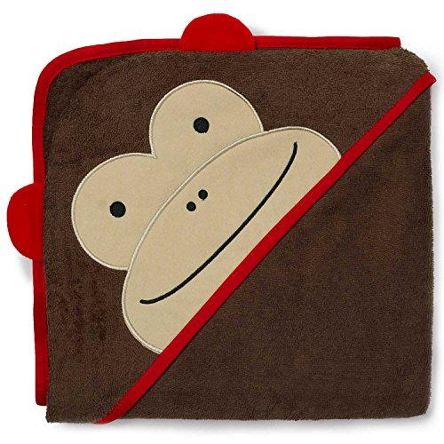 Skip Hop Zoo Asciugamano con Cappuccio, Motivo: Scimmia