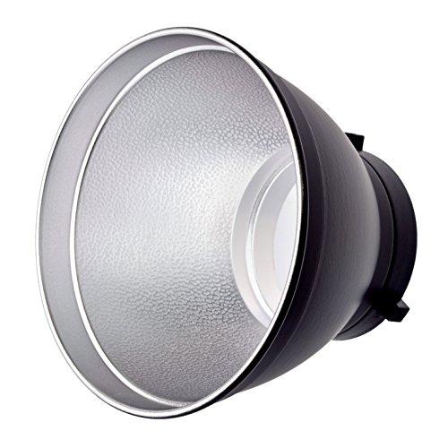 Bresser F000094 Fotostudio M-13 High Key Standard Reflektor 17,5 cm für Studioblitz schwarz