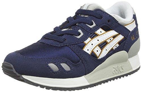 Asics - Gel-Lyte Iii Ps, Sneakers infantile, blu (navy/white 5001), 34.5