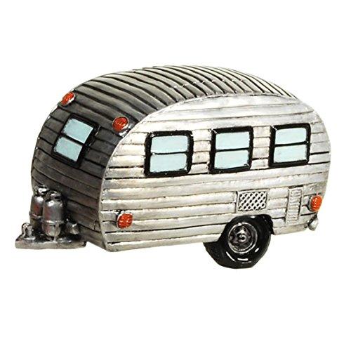 wunderschöne Spardose,Sparbüchse Wohnwagen Wohnanhänger Campingfahrzeug Vintage Nostalgie