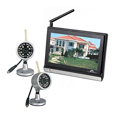 �berwachung mit 2 Kameras Baby Monitor 2,4 GHz WLAN 7.0