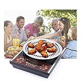 SNATCHCZ Placa De Barbacoa, Cocina, Cacerola, Parrilla, Placa De Carne, Antiadherente, Acero Inoxidable, Bakeware