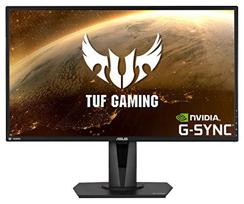 ASUS TUF Gaming VG27AQ HDR Gaming Monitor - 27 inch WQHD (2560x1440), IPS, 155Hz*, ELMB SyncTM, G-SYNC Compatible, Adaptive-sync, 1ms (MPRT), HDR10