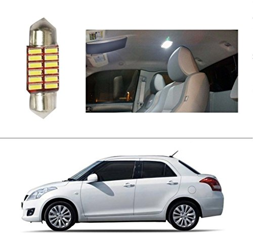 AutoStark 12 LED Roof Light Car Dome Light Reading Light For Maruti Suzuki Swift Dzire (Old)  available at amazon for Rs.99