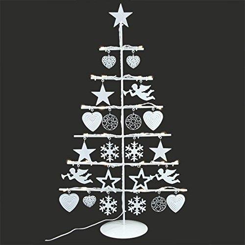 Weihnachtsbaum Lichterbaum Deko mit LED Lampen H:39cm