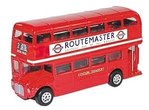 Corgi - TY82315 - Bus en Métal - Londonien Routemaster 50ème Anniversaire - 15 cm - Livré en Boîte +Vitrine
