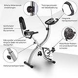 SportPlus S-Bike / X-Bike, mit Pulsmessung, TÜV/GS, klappbar, Benutzergewicht bis 100kg - 4