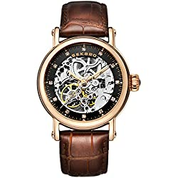 Automatic mechanical watches/Strap waterproof women's table/Fashion dial-H