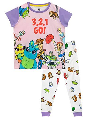 Disney Mädchen Toy Story Schlafanzug Mehrfarbig 122