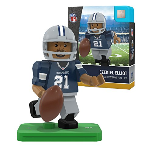 Preisvergleich Produktbild Dallas Cowboys NFL Top Draft Pick - Ezekiel Elliott OYO Mini Figure
