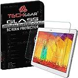 TECHGEAR® Samsung Galaxy Note 10.1 2014 Edition (SM-P600 / SM-P605) GLASS Edition Genuine Tempered Glass Screen Protector Guard Cover