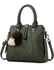 Malilove Todo Partido Simple Lady Bags Bolso Bolso Messenger Bag,Ejército Verde