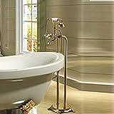 Freistehende Badewanne Armatur befestigt, tippen Sie auf