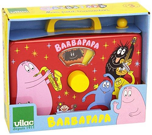Vilac 5857 - Barbapapa Spielzeug für die Entwicklung der motorischen Fähigkeiten in Holz