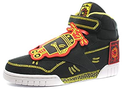 Reebok Classic x Keith Haring Exofit Homme Baskets / Sneakers Noir 42 1/2