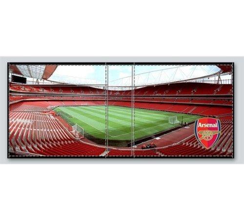 Official Football Merchandise Portefeuille en cuir Motif stade d'équipe de football au choix