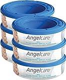 Angelcare - Pack de 6 cajas para pañales y recambios