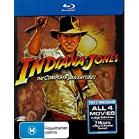Indiana Jones: The Complete Adventure Collection Blu-ray