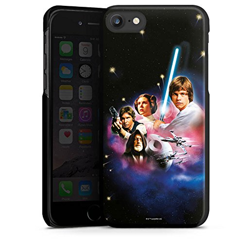 Apple iPhone X Silikon Hülle Case Schutzhülle Star Wars Merchandise Fanartikel A new hope Hard Case schwarz