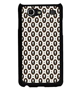 ifasho Animated Royal design with Queen head pattern Back Case Cover for Samsung Galaxy S Advance i9070