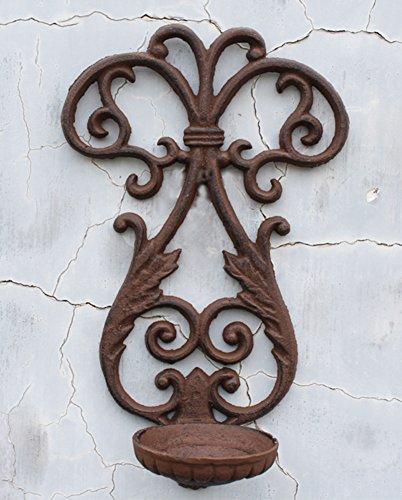 Europäischen aristokratischen Logo Schablone Wand Kerzenhalter Vintage Eisen Kerzenständer