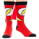 DC cr3ecfdco Comics Flash Umhang Crew Socken