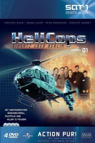 Helicops - Einsatz über Berlin: 1. Staffel [Collector's Edition] [4 DVDs]