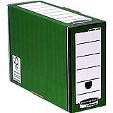 Fellowes R-Kive Premium - Caja de archivo (10 unidades), color verde
