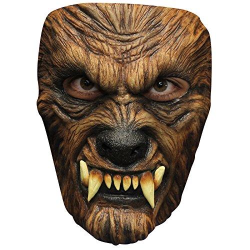 Unbekannt AEC-mahal648-Maske Wolf Latex Erwachsene