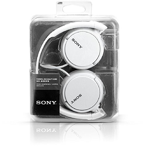 [Get Discount ] Sony MDR-ZX110A On-Ear Stereo Headphones (White), without mic 51bjXlr02ZL