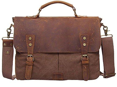 Valuker 1807ka borsa di pelle borsa in cuoio a tracolla for Borsa ufficio uomo