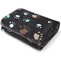 Allisandro Super Softe und Warme Hundedecke Fleece-Decke/Tier Schlafdecke…