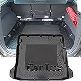 Car Lux nar01720-Tapis coffre coffre pour grand scenic iII 5places depuis 2009- avec anti-dérapant