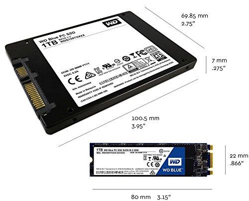 Western Digital WDS500G1B0B PCC Solid State Drive (500 GB) - 5