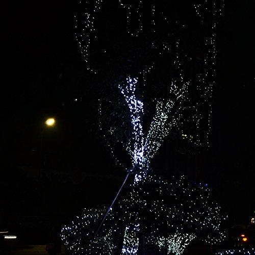 Luce Per Esterno Senza Corrente.Catena Di Luci Led Impermeabili Senza Corrente Luce A Energia Solare 200 Led Per Esterni Casa Terrazza Cortile Finestra Festa Di Natale