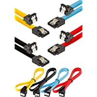 Poppstar - 4x S-ATA 3 HDD Cable de datos SSD (0.5 m,