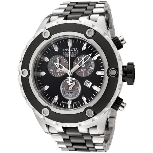 black-stainless-steel-reserve-swiss-chronograph-diver