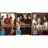 Die Borgias Season 1+2+3 - komplette Serie im Set - Deutsche Originalware [11 DVDs]