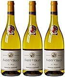 François Martenot France Bourgogne Vin Les Plantes AOP Saint Veran 75 cl - Lot de 3