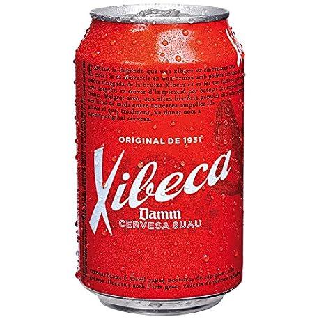 Xibeca Pilsen Cerveza Paquete de 24 x 330 ml