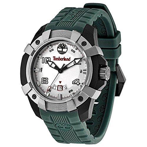 Timberland - TBL.13326JPBU/13 - Montre Homme - Quartz Analogique - Bracelet Silicone Vert