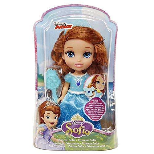 Sofia die Erste Kleine Puppe, 15 cm, blau/lila