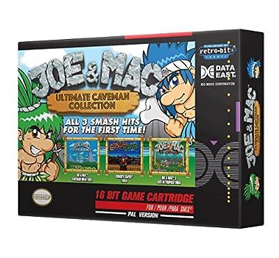 Retro-Bit Europe Joe and Mac Ultimate Caveman Collection PAL Version SNES Cartridge for Super NES (Nintendo Super NES) by Retro-Bit Europe