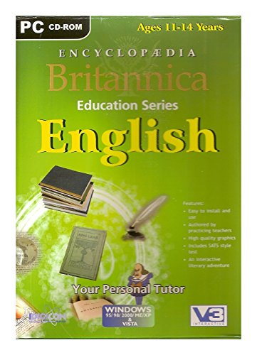 Idigicon Ltd. Encyclopedia Britannica English (11-14 Years) 1 PC (CD)