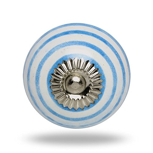ceramic-round-knob-blue-circles-on-white-with-chrome-finish-kitchen-cabinet-cupboard-door-knobs-home