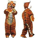 Legler Kinder Fasching Karneval Kostüm Tiger braun