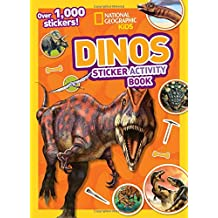 Dinos Sticker Activity Book: Over 1,000 Stickers! (NG Sticker Activity Books)