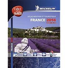 Atlas Routier France 2014 Michelin Relié A4