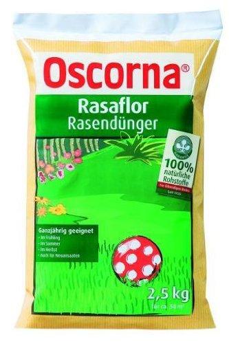 Oscorna Rasaflor Engrais pour gazon 2,5 kg