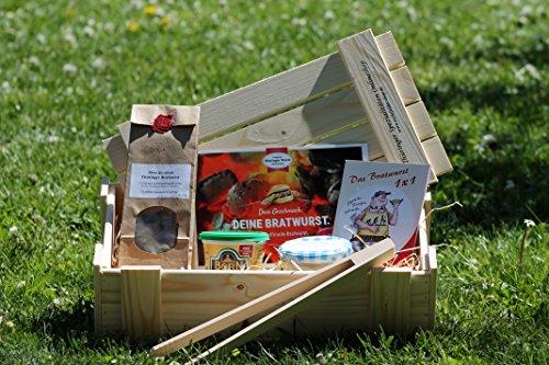 Selfmade Bratwurst Kiste  Starterset zur Herstellung von Thüringer Bratwurst  Geschenkidee  DIY